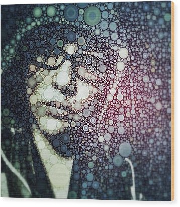 Having Some #fun With #percolator :3 Wood Print by Maura Aranda