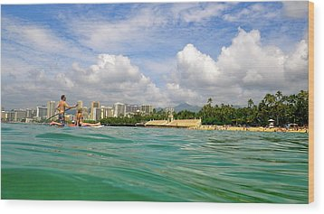 Hawaii Winter Dream Wood Print