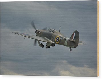 Hawker Hurricane Mk Xii  Wood Print