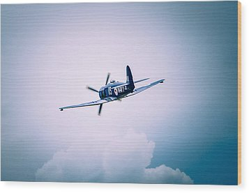Hawker Sea Fury Fb11 Wood Print