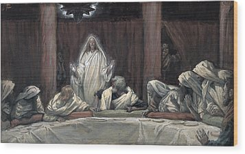 He Appeared To The Eleven Wood Print by Tissot