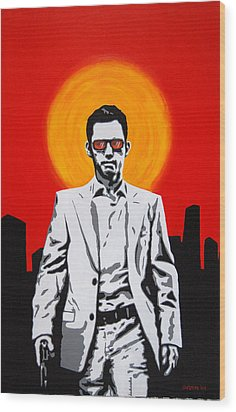 He Used To Be A Spy Wood Print by Justin Overholt