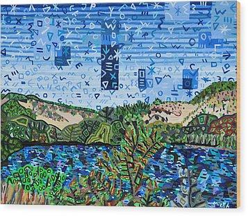 Head Of The Meadow Beach Wood Print by Micah Mullen