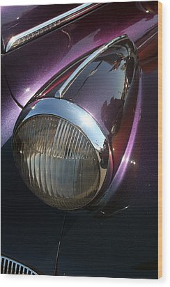 Wood Print featuring the photograph Headlight by Lynn Bawden