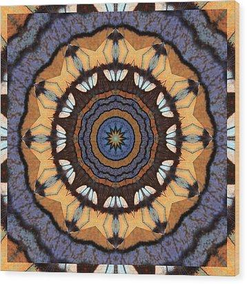Healing Mandala 16 Wood Print