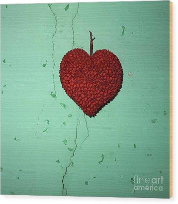 Heart Wood Print by Bernard Jaubert