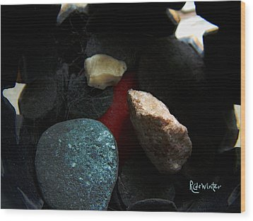 Wood Print featuring the photograph Heart Of Stone by RC DeWinter