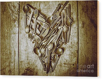 Heart Of The Kitchen Wood Print by Jorgo Photography - Wall Art Gallery