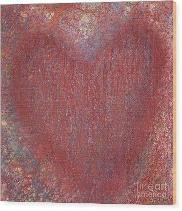 Heart Of The Matter Wood Print