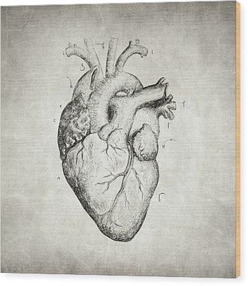 Heart Wood Print by Taylan Apukovska