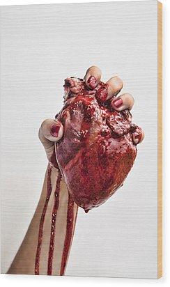 Heartbreaker Wood Print by John Crothers