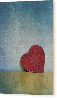 Heartfull Wood Print