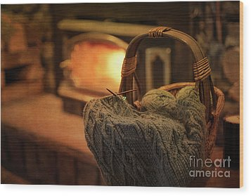 Hearth And Home Wood Print