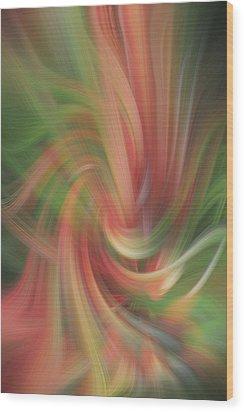 Heat Stroke Wood Print by Linda Phelps