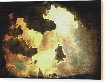 Heaven Wood Print by Andrea Barbieri