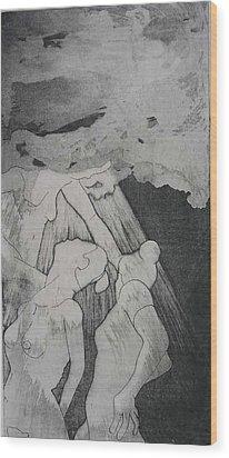 Heaven Is Wood Print by Brad Wilson