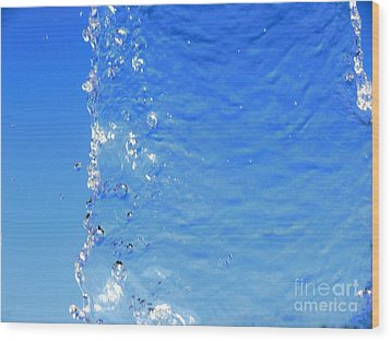Wood Print featuring the photograph Waterfall by Ray Shrewsberry