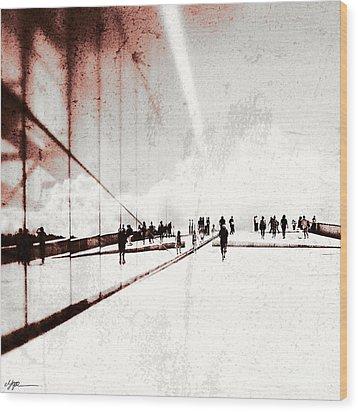 Heavenly Walk In Oslo 1 Wood Print by Marianne Hope