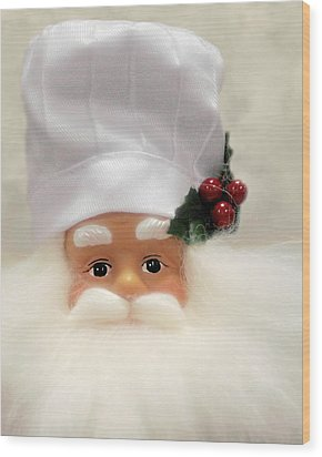 Heaven's Chef Wood Print by Christine Till