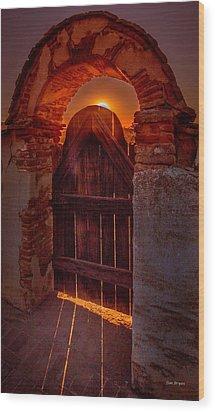 Heaven's Gate Wood Print by Tim Bryan