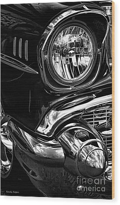 Heavy Chevy Wood Print