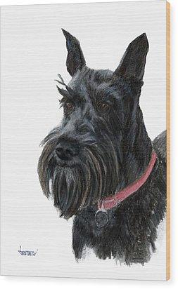 Heidi Wood Print by Jimmie Trotter