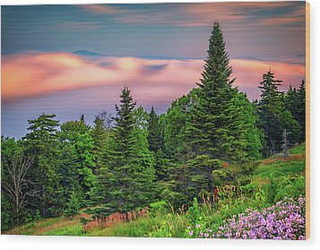 Wood Print featuring the photograph Height Of Land by Rick Berk