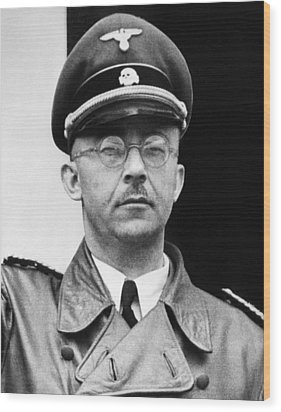 Heinrich Himmler 1900-1945, Nazi Leader Wood Print by Everett