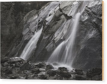 Helen Hunt Falls Wood Print by Sennie Pierson