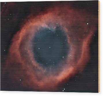 Wood Print featuring the photograph Helix Nebula by Charles Warren