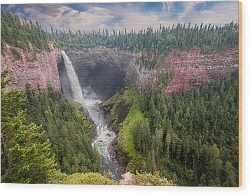 Helmcken Falls Wood Print