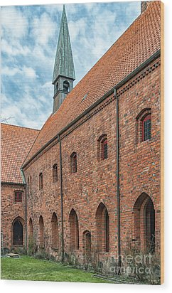 Wood Print featuring the photograph Helsingor Saint Mary Church by Antony McAulay