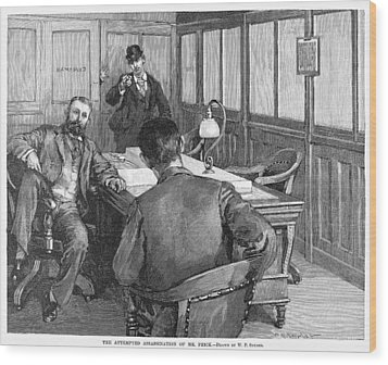 Henry Clay Frick  (1849-1919) Wood Print by Granger