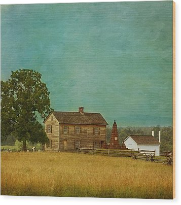 Henry House At Manassas Battlefield Park Wood Print