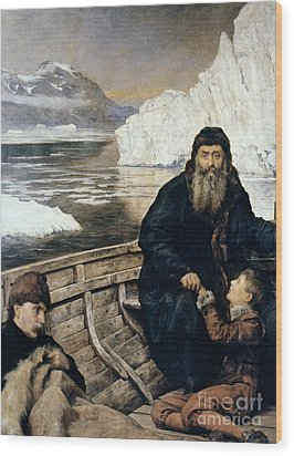 Henry Hudson And Son Wood Print by Granger
