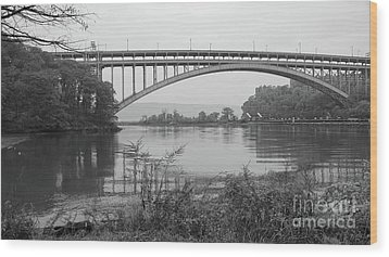 Henry Hudson Bridge  Wood Print by Cole Thompson