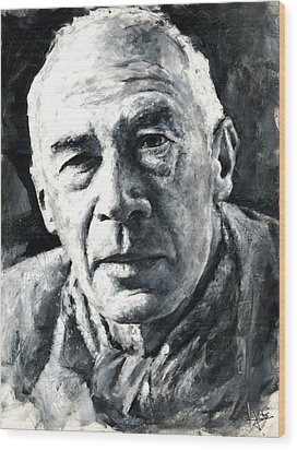 Henry Miller Wood Print
