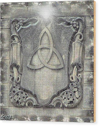 Her Love And Light Will Balance Me Wood Print by September  Stone