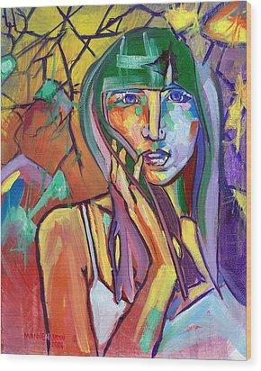 Her No.1 Wood Print