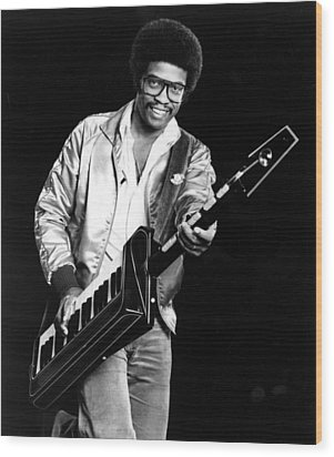 Herbie Hancock, 1980s Wood Print by Everett