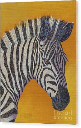 Here's Lookin At You Wood Print by Tracy L Teeter