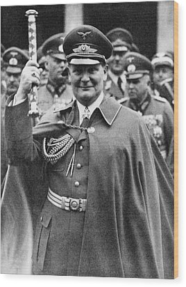 Hermann Goering 1893-1946, Holding Wood Print by Everett