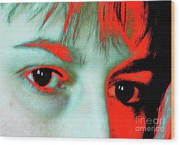 Wood Print featuring the photograph Hermine Unanswered by Jesse Ciazza