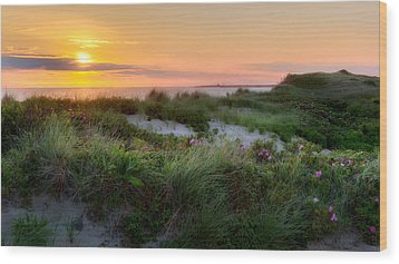 Herring Cove Beach Wood Print