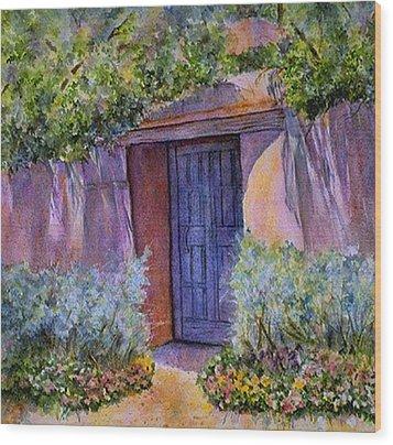 Hidden Assets Wood Print by Ann Peck