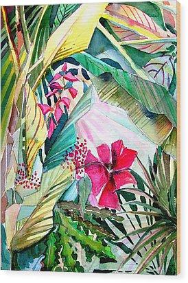 Hidden Beauty Wood Print by Mindy Newman