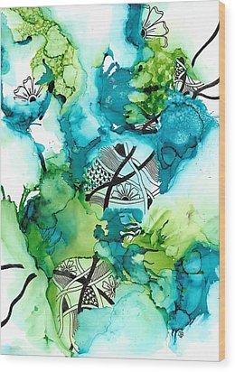 Hidden Treasure Wood Print by Jan Steinle