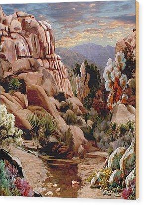 Hidden Valley Trail Wood Print