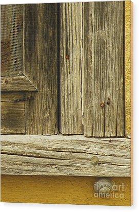 Hideout Wood Print