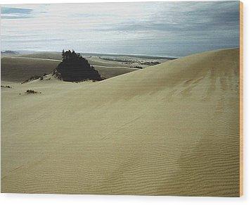 High Dunes 1 Wood Print by Eike Kistenmacher